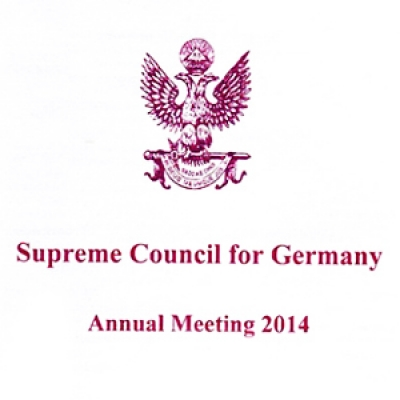 Supreme Council for Germany Annual Meeting 2016